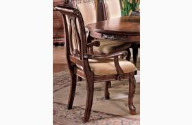 Harmony Cherry Arm Chair Set of 2