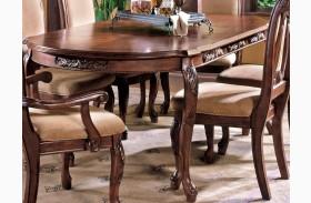 Harmony Medium Cherry Extendable Rectangular Dining Table