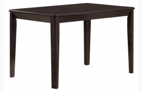 1170 Cappuccino Veneer Dining Table