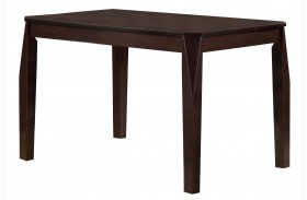 1180 Cappuccino Veneer Dining Table