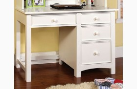 Omnus White Desk