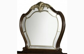 Imperial Court Radiant Chestnut Mirror