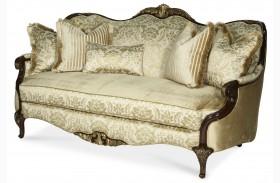 Imperial Court Wood Trim Sofa