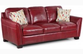 Midtown Red Sofa