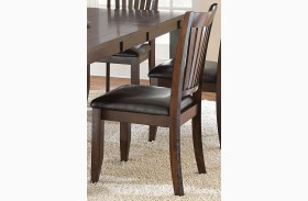 Josie Red Oak Side Chair Set of 2