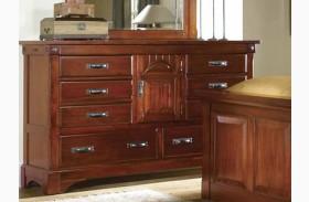 Kalispell Rustic Mahogany Dresser