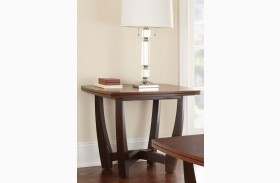 Kenzo Fruitwood End Table