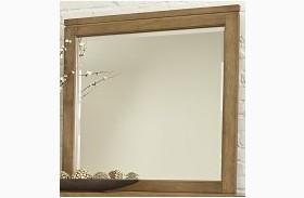 Kismet Rustic Maple Landscape Mirror