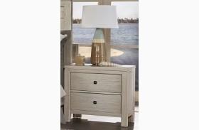 Kismet Sandstone Oak 2 Drawer Nightstand