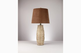 Haldis Ceramic Table Lamp Set of 2