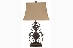 L200064 Metal Table Lamp