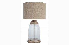 L430014 Glass Table Lamp