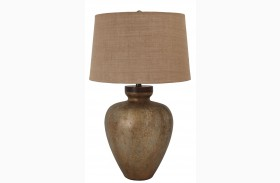L430194 Glass Table Lamp