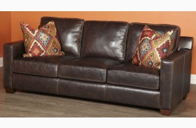 Adobe Akron Brown and Adobe Multi Sofa