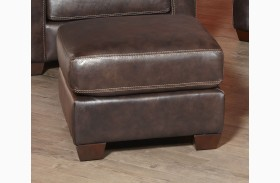 Adobe Akron Brown and Adobe Multi Ottoman