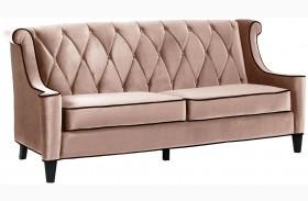 Barrister Caramel Velvet Sofa