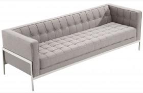 Andre Gray Tweed Sofa
