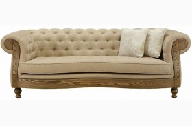 Barstow Sand Fabric Sofa