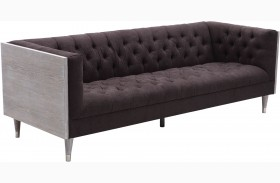 Bellagio Charcoal Fabric Sofa