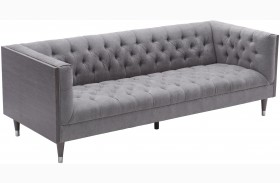 Bellagio Mist Fabric Sofa