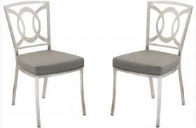 Drake Gray Dining Chair Set of 2