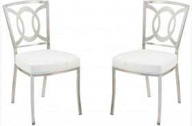 Drake White Dining Chair