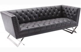 Odyssey Black Sofa