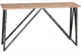 Regis Pine Top Console Table