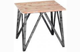 Regis Pine Top End Table