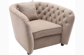 Rhianna Camel Tufted Chair