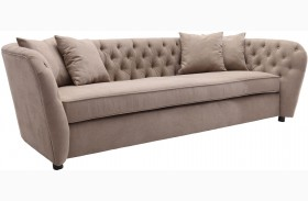 Rhianna Camel Tufted Sofa