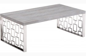 Skyline Grey Wash Coffee Table