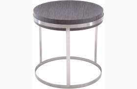 Sunset Grey Top End Table