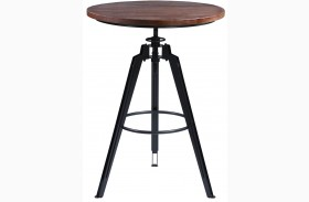 Tribeca Gray Pub Table