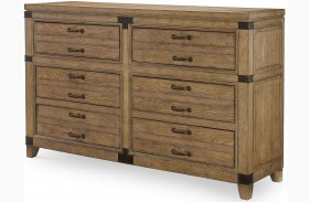 Metalworks Factory Chic 6 Drawers Dresser