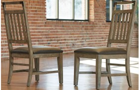 Metalworks Factory Chic Splat Back Side Chair Set of 2