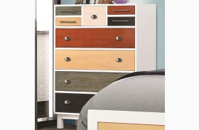 Lemoore Multi-Color 9 Drawer Chest