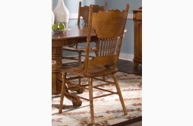 Nostalgia Double Press Back Side Chair Set of 2