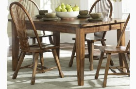 Treasures Oak Leg Table
