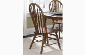 Old World Windsor Side Chair Set of 2