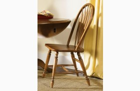 Low Country Bronze Windsor Back Side Chair Set of 2