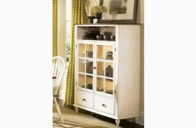 Low Country Sand Curio Cabinet