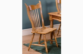 Country Haven Mule Ear Side Chair Set of 2