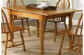 Country Haven Butterfly Leaf Table - Liberty Furniture