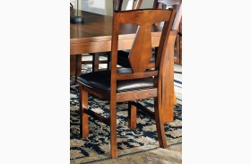 Lakewood Medium Oak Side Chair Set of 2