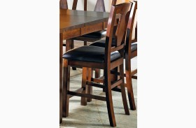 Lakewood Medium Oak Counter Chair Set of 2