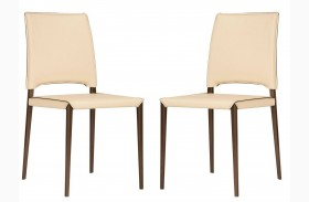Ritz Lola Cream Dining Chair Set of 2