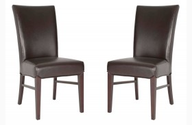 London Espresso Havana Dining Chair Set of 2