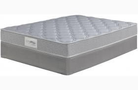 Rac Silver Ltd White Queen Mattress With Foundation
