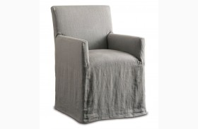 Marcel Dining Gray Linen Chair